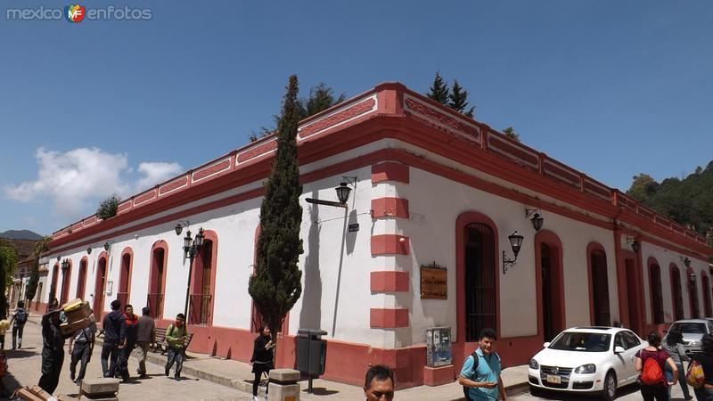 Arquitectura del centro histórico. Julio/2014