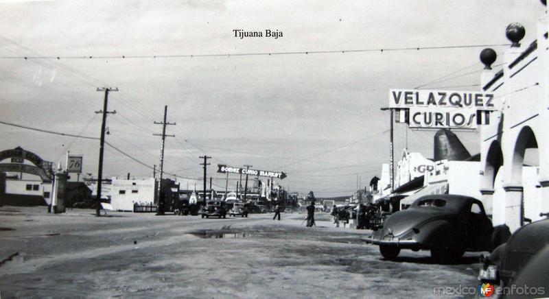 Escena callejera Hacia 1940