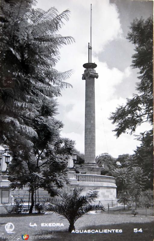 Mto. la Exedra Hacia 1945