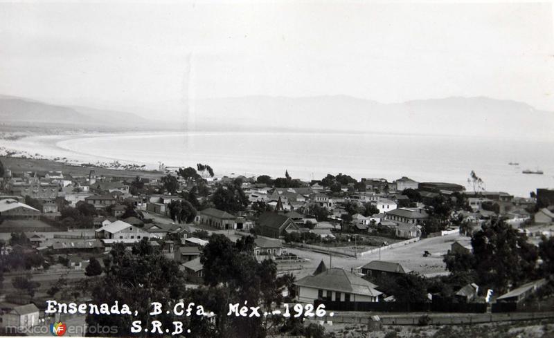 Panorama en 1926 Hacia 1926