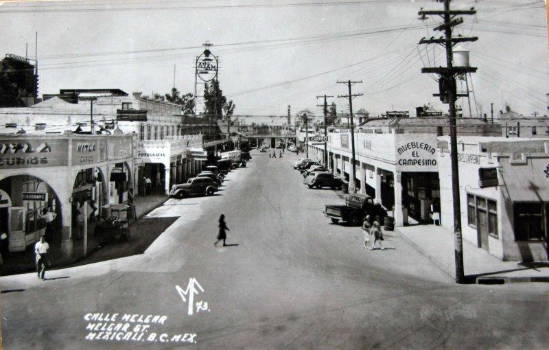 Calle Melgar hacia 1945