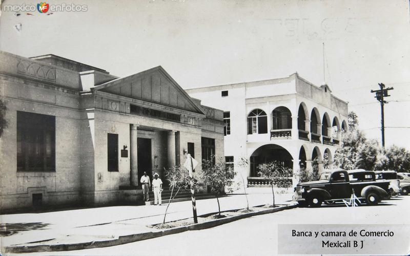 Banca y camara de Comercio hacia 1945