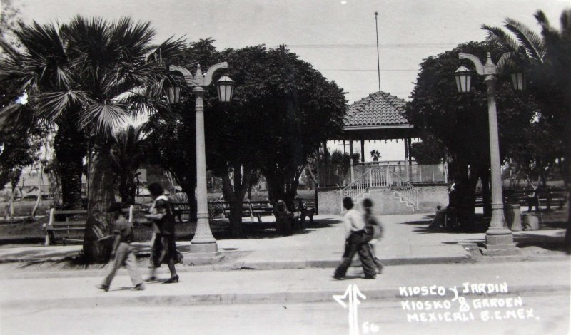 Kiosko y Jardin