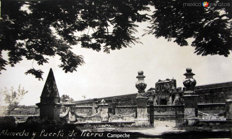 La Alameda y puerta