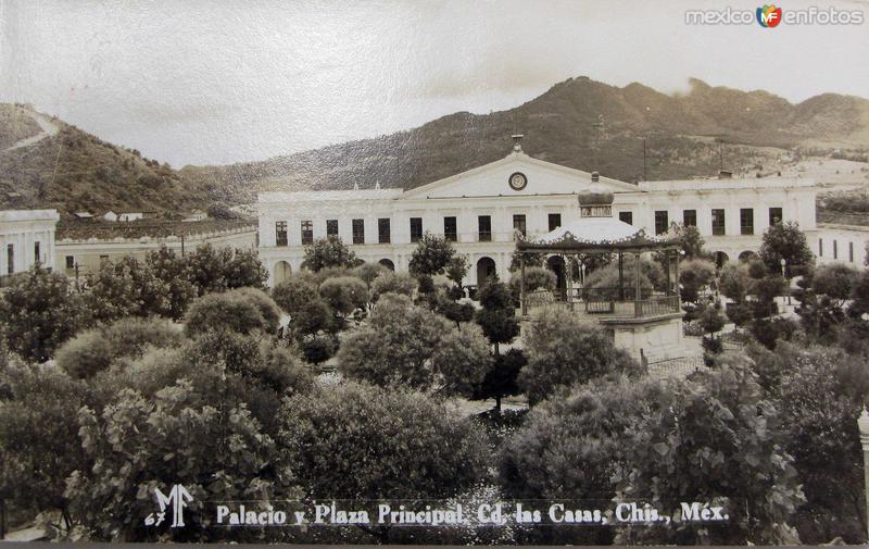 Palacio y plaza