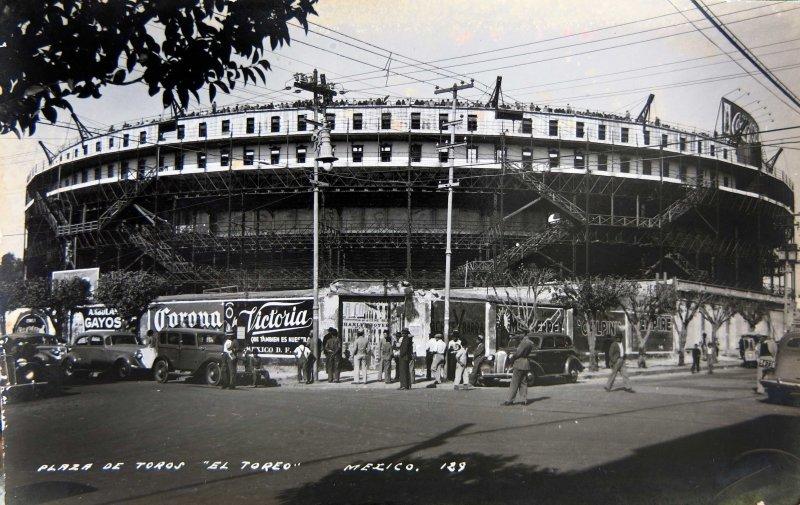 La Plaza de toros Hacia 1945