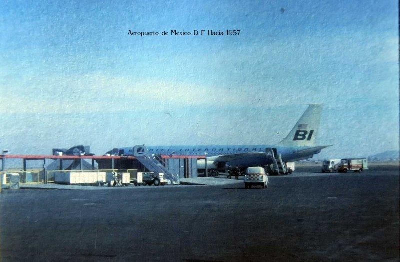Aeropuerto de Mexico D F Hacia 1957