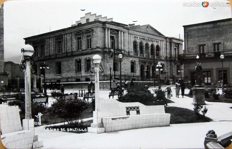 El Casino Hacia 1945
