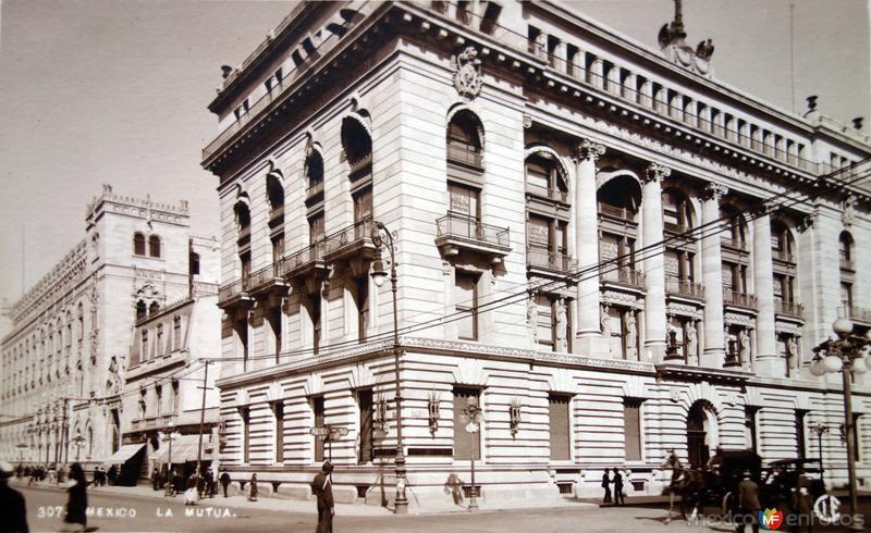 Edificio de la Mutua Hacia 1900