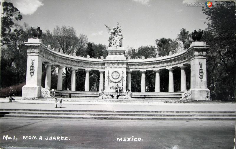 Mto. a Juarez Hacia 1945