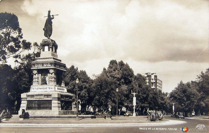 Paseo de la Reformaa Hacia 1945