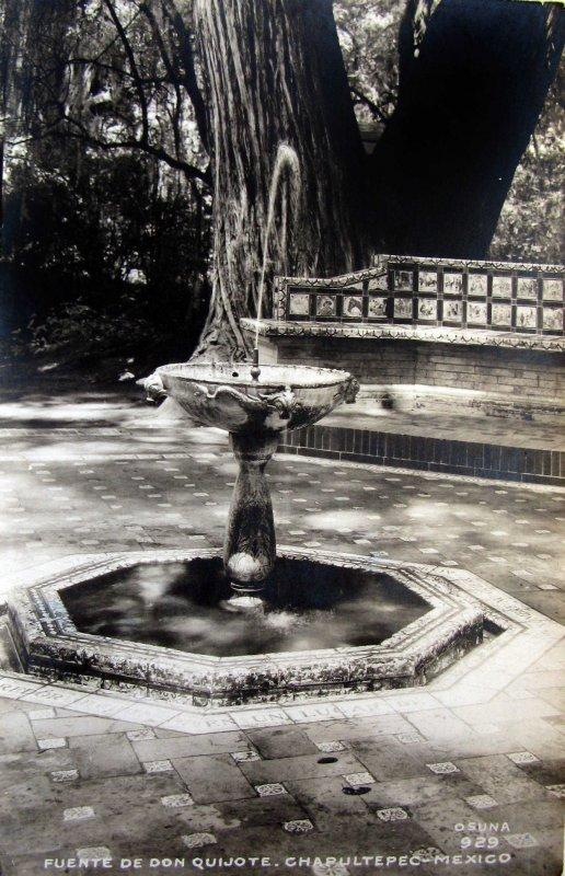 Fuente Don Quijote Hacia 1945