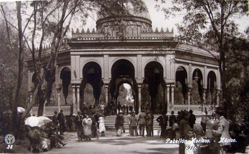 EL PABELLON MORISCO Hacia 1909