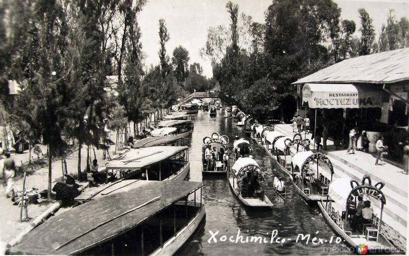 XOCHIMILCO Hacia 1940