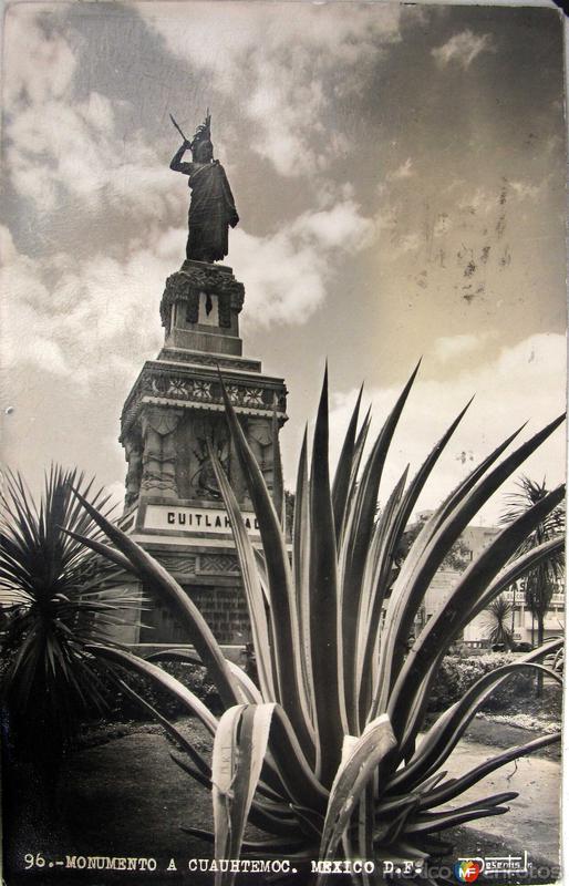 Mto. a Cuahutemoc Hacia 1945