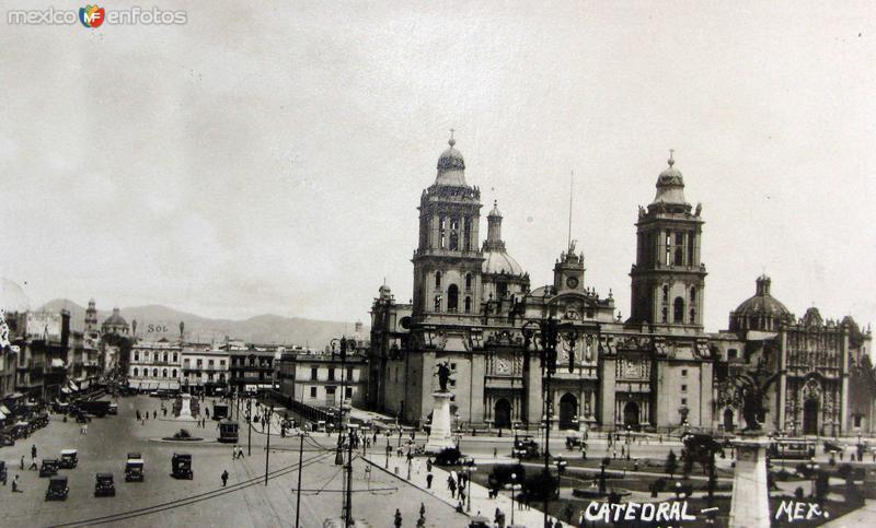 La Catedralel Hacia 1930
