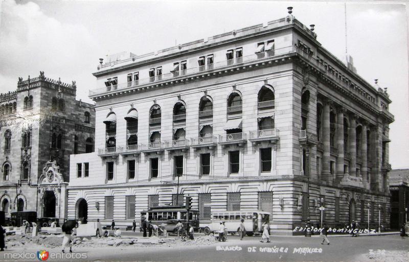 Banco de Mexico Hacia 1945