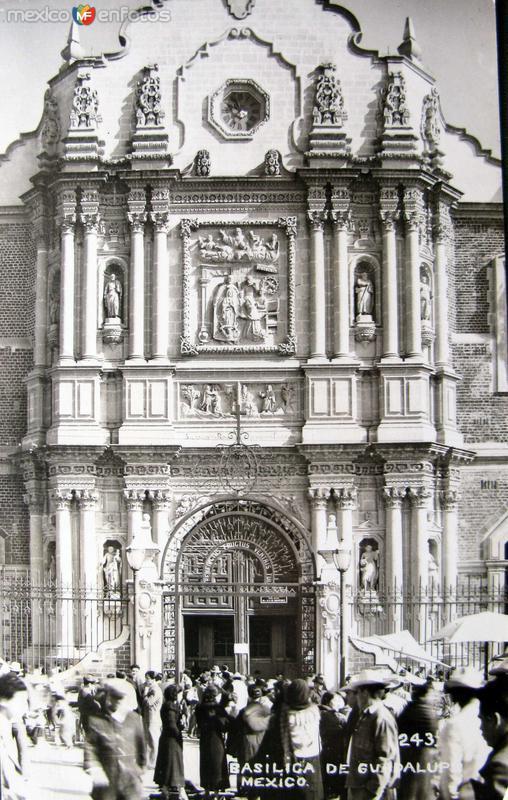 La Villa de Guadalupe Hacia 1945
