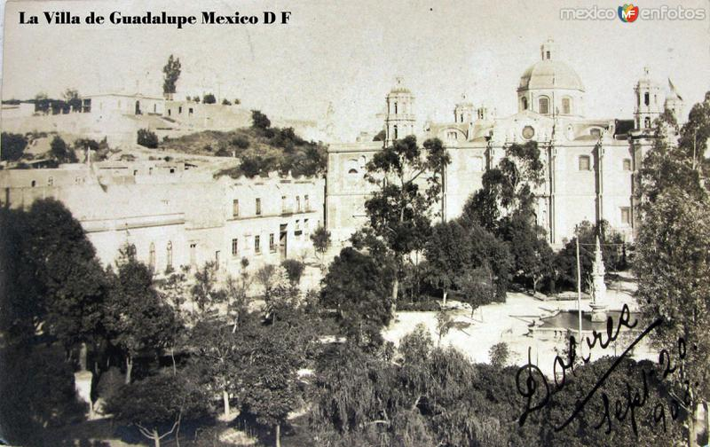 La Villa de Guadalupe Hacia 1908