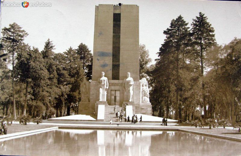 Fuente de Chapultepec Hacia 1945