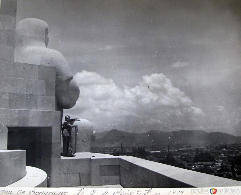 Panorama desde el Mto. a la Revolucion Hacia 1939