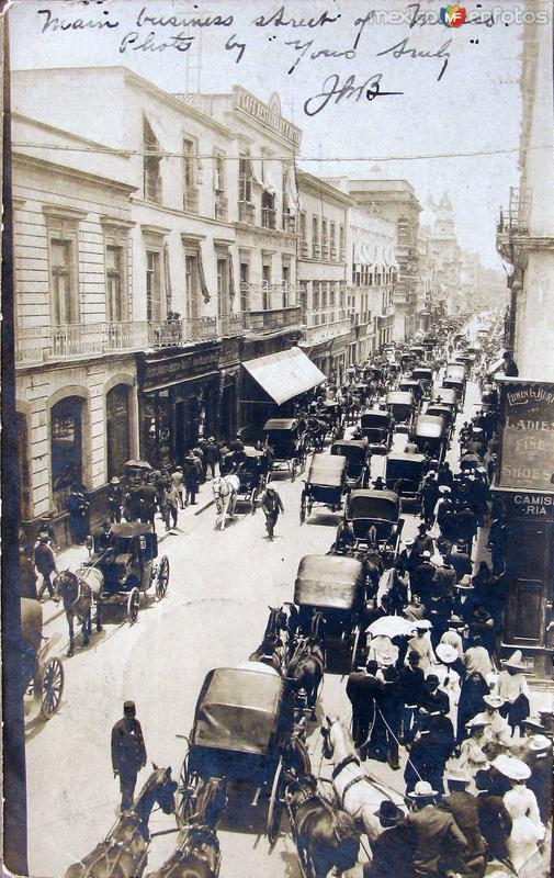 Calle Principal Hacia 1910