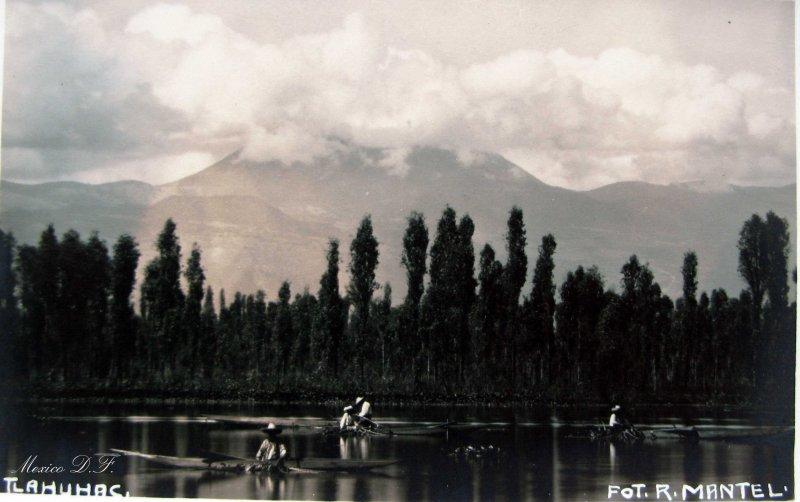 Los Canales de Tlahuac Hacia 1930