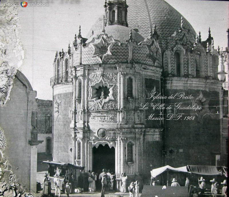 Iglesia de el Pocito en la Villa Hacia 1908