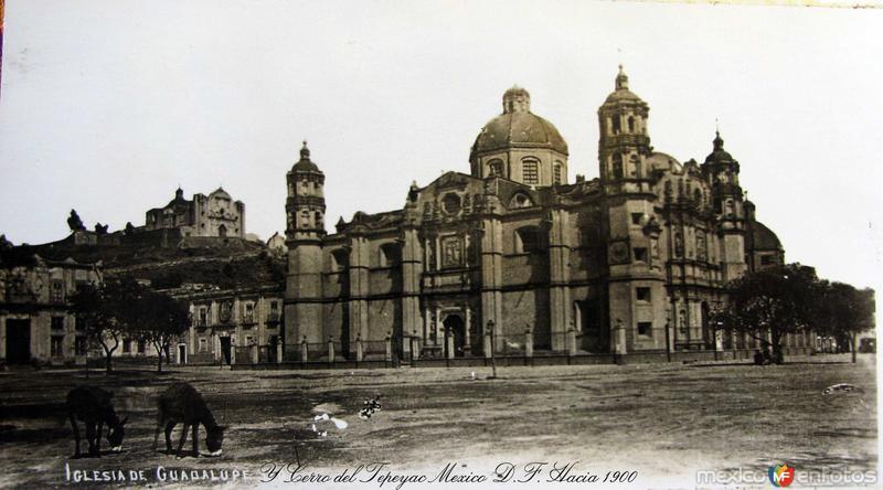 Basilica de Guadalupe Hacia 1900