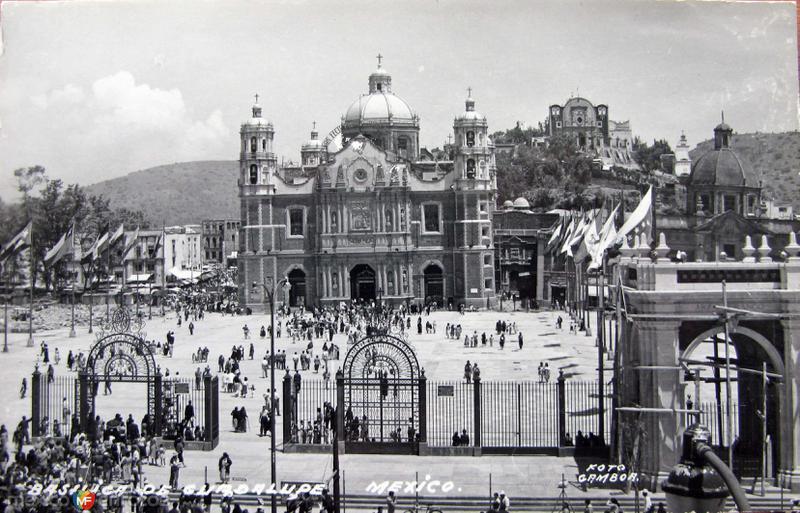 Villa de Guadalupe Hacia 1945