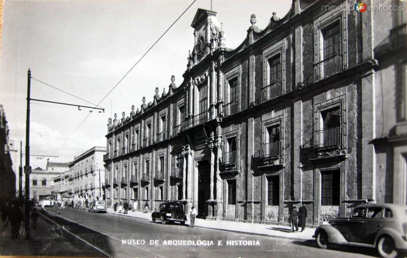 Museo de Antropologia Hacia 1945