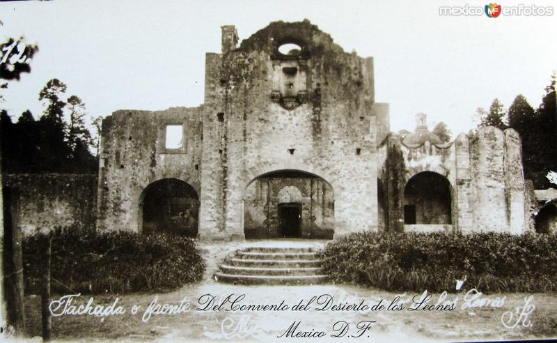 Desierto de Los Leones Hacia 1945