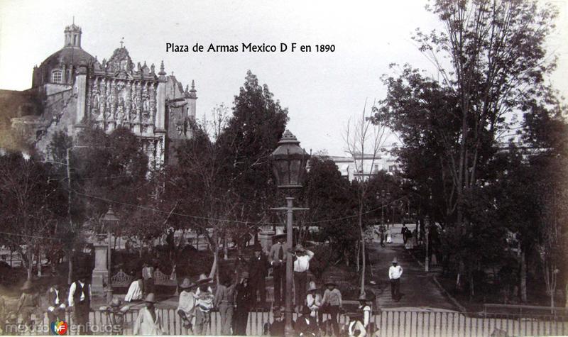 Plaza de Armas Hacia 1890