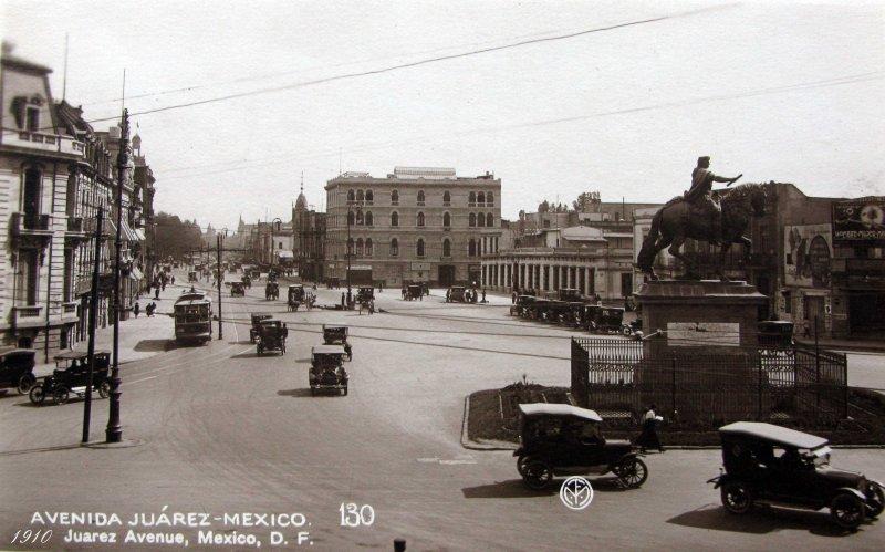 Avenida Juarez Hacia 1930