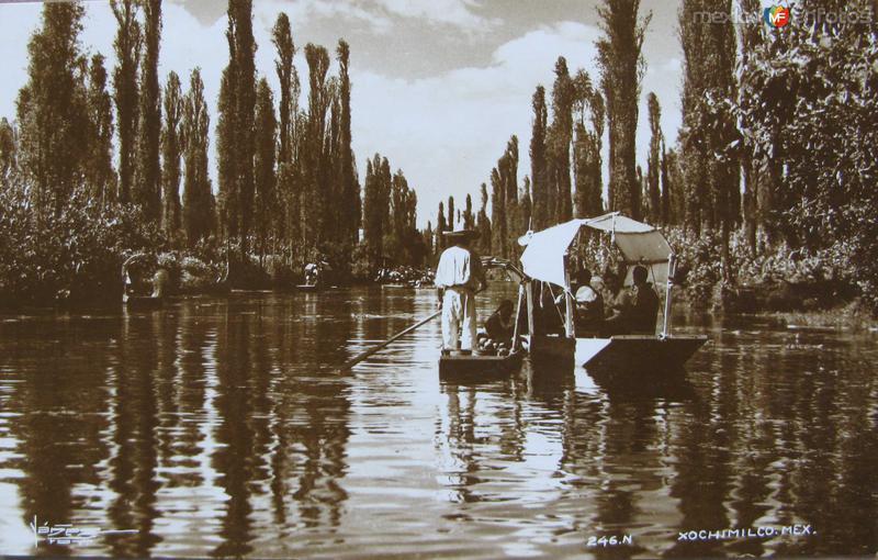 Xochimilco Hacia 1930