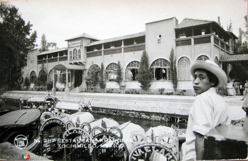 Xochimilco Hacia 1945