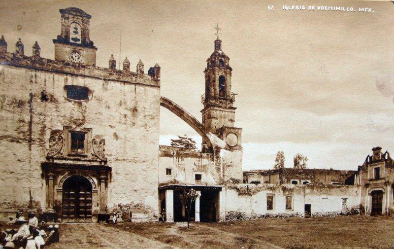 IGLESIA DE Xochimilco Hacia 1945