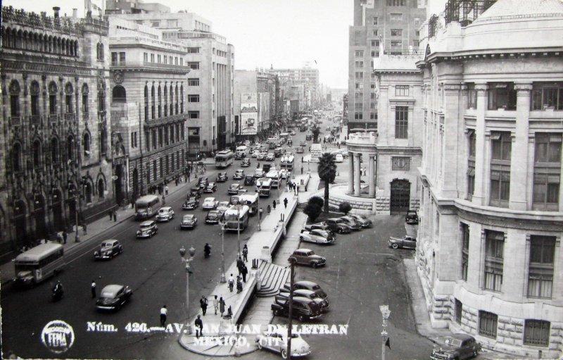 Calle San Juan de Letran Hacia 1945