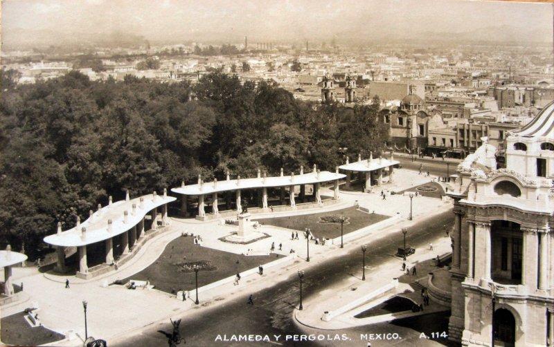 La Alameda y Pergola Hacia 1945