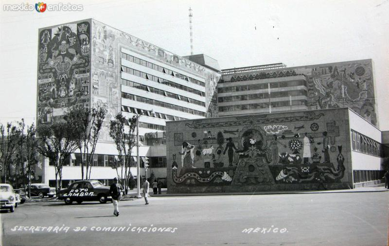 Secretaria de Comunicaciones Hacia 1945