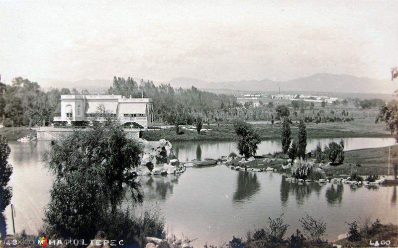 Lago de Chapultepec Hacia 1930