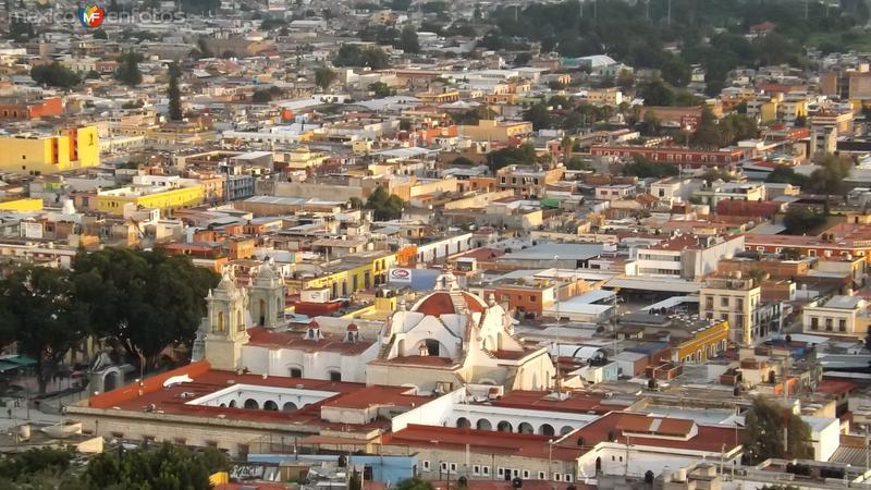 Vista del Centro Histórico de la antigüa Antequera. Julio/2014