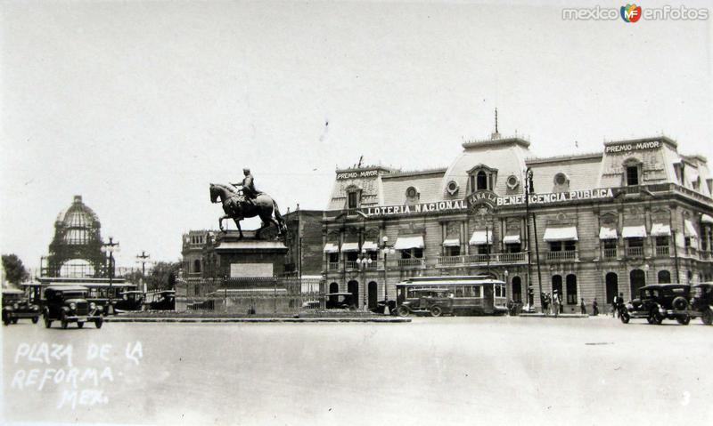 Plaza de la Reforma Hacia 1939