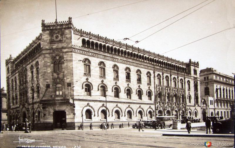 Palacio de Correos Hacia 1945