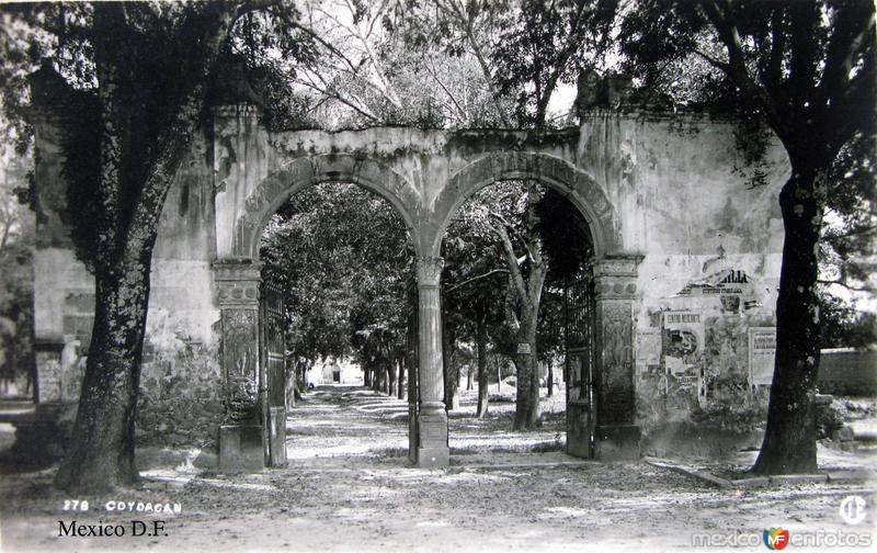 Coyoacan Hacia 1945