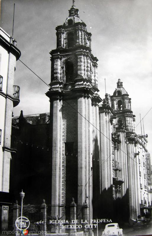 Iglesia de la Profesa Hacia 1945