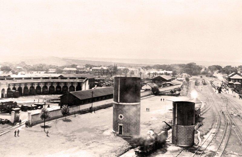 Aguascalientes, Estación y patios del Ferrocarril