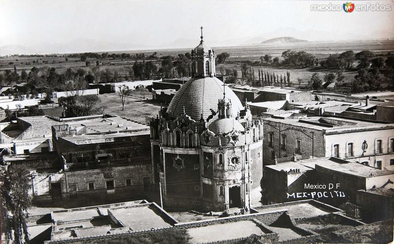 El Pocito en La Villa de Guadalupe Hacia 1920