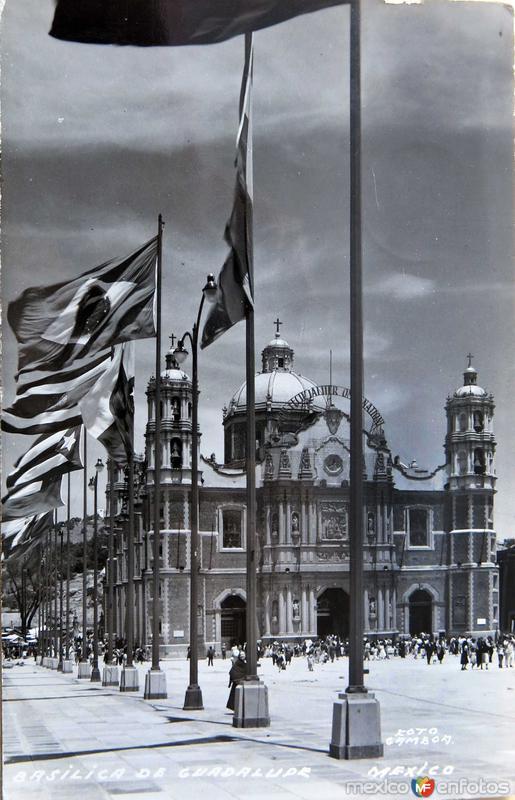 La Villa de Guadalupe Hacia 1959