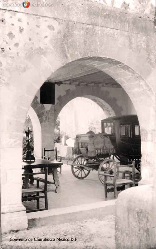 Exconvento de Churubusco Hacia 1945